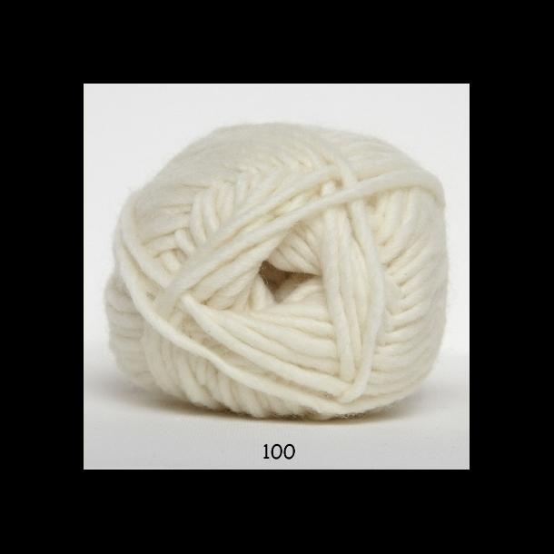 Hjertegarn Naturuld Hvid 100